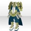 聖騎士の鎧 ブルー
