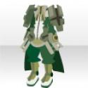 聖騎士の鎧 グリーン