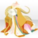 蛇姫十二単B 黄