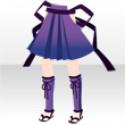 姫巫女の戦袴B 紫