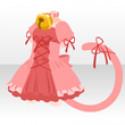 メルヘンねこワンピ ピンク