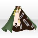 護符付の外套B 緑