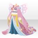 桜の蝶々和華着物 赤(イベント限定)