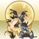 月の兎とお姫様 イエロー