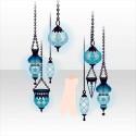 ルーチェマゴの吊るしランプ ブルー