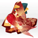 蝋燭堂の人魚の着物A 紅