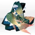 蝋燭堂の人魚の着物A 緑