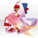 蝋燭堂の人魚の着物B 桃
