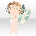 クリスタルエルフの冠と羽・ワイルドエルフ 風の妖精