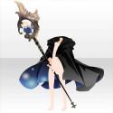癒祈のハイレンワンダーの杖 ブラック