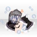鳥籠と音を抱える ブラック
