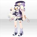 カモメ郵便ボーイパーカーA 紫
