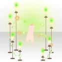 ポゼッショントラウムの炎A グリーン