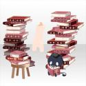 積み上がる努力の証と使い魔 ピンク