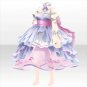 茶器のドレスA 紫