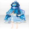 茶器のドレスB 青