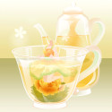 花咲くお茶の精 黄