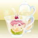 花咲くお茶の精 白