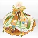 桃花仙女の舞装束A 黄