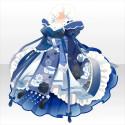 桃花仙女の舞装束B 青