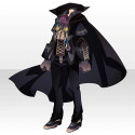 薔薇城主の装いA ブラック