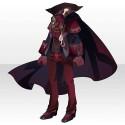 薔薇城主の装いA レッド