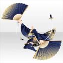 玉響乙女の剣扇舞衣装A 青