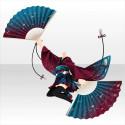 玉響乙女の剣扇舞衣装B 紫