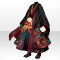 羽織袴の武家装束A 赤