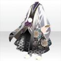 羽織袴の武家装束B 白