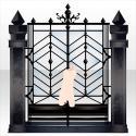 閉ざされた境界の門 ブラック